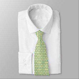 soccer shaped circles patterned graphic design tie
