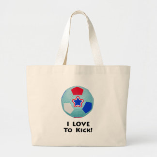 Soccer Shirts & Gifts Large Tote Bag