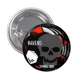 Soccer Skull buttons