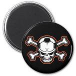 Soccer Skull Magnets