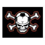 Soccer Skull Postcards