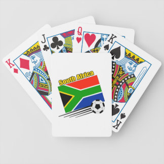 Soccer South Africa Bicycle Playing Cards