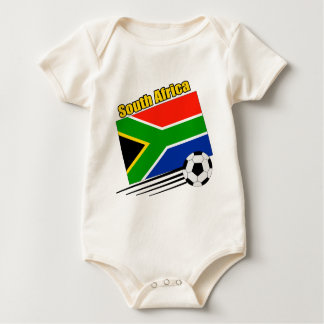 Soccer South Africa Bodysuits
