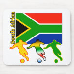 Soccer South Africa Mouse Pad