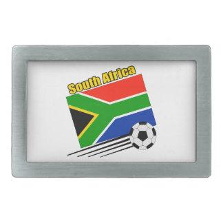 Soccer South Africa Rectangular Belt Buckles