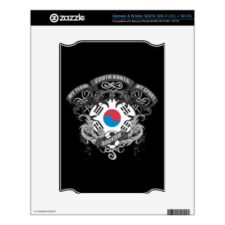 Soccer South Korea Decal For The NOOK