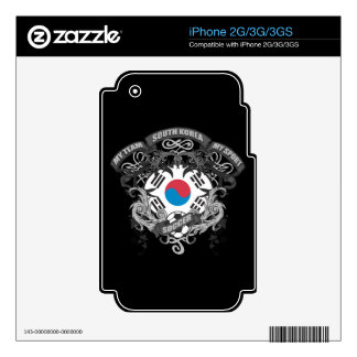 Soccer South Korea iPhone 3GS Decal