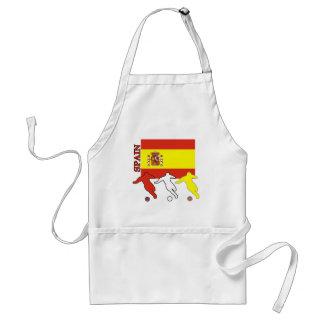 Soccer Spain Adult Apron