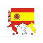 Soccer Spain Postcard