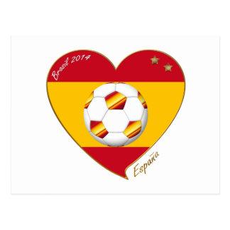 "SOCCER ""SPAIN"" Spain Spanish Football Soccer Team Postcards"