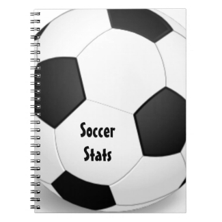 Soccer Spiral-Bound Notebook
