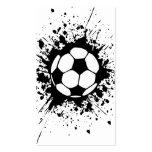 soccer splatz business card