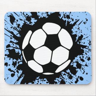 soccer splatz mouse pad