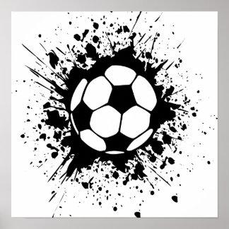 soccer splatz posters