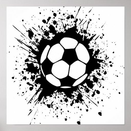 Soccer splatz posters for Soccer t shirt design ideas