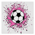 soccer splatz print