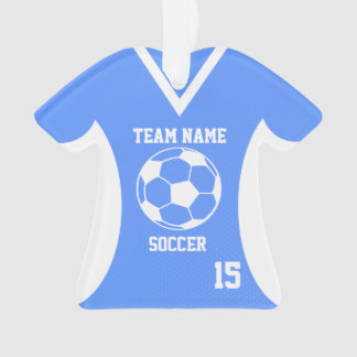 Soccer Sports Jersey Blue with Photo