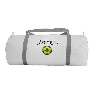 Soccer Sports Theme Duffle Bag