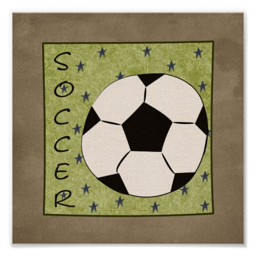 Soccer (Sporty Collection) Poster