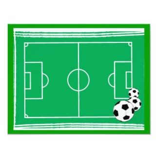 soccer-stadium 4.25x5.5 paper invitation card