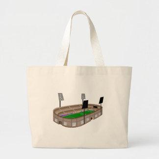 Soccer Stadium Canvas Bag