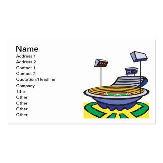 Soccer Stadium Double-Sided Standard Business Cards (Pack Of 100)