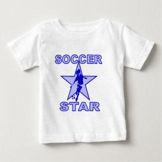 Soccer Star Blue tones Baby T-Shirt