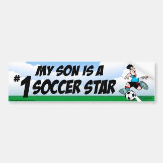 Soccer Star Bumper Sticker