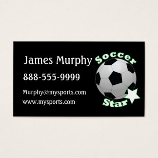 Soccer Star Business Card