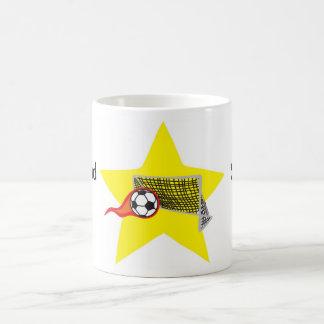 Soccer star!  Customizable: Coffee Mug