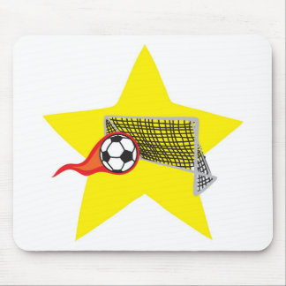 Soccer star!  Customizable: Mouse Pad
