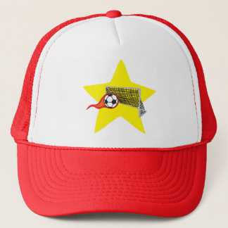 Soccer star!  Customizable: Trucker Hat