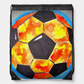 Soccer Star Drawstring Backpack