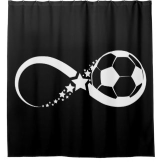 Soccer Star Infinity Shower Curtain