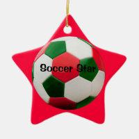 Soccer Star Ornament