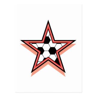 Soccer Star Postcard