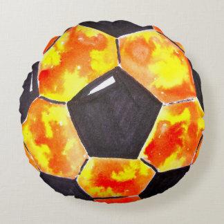 Soccer Star Round Pillow