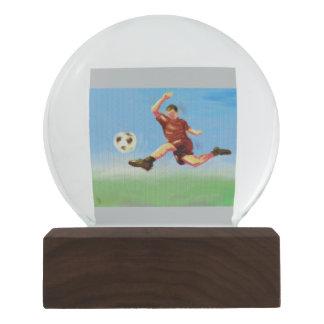 Soccer Star Snow Globe