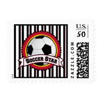 Soccer Star Stamps, Postage