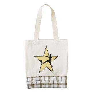 Soccer Star Zazzle HEART Tote Bag