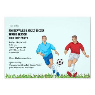 Soccer Stars Invitation