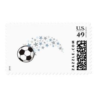 Soccer Stars Stamp