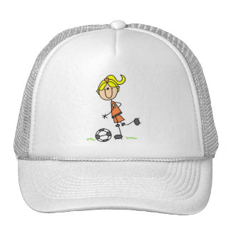 Soccer Stick Figure Hat
