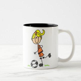 Soccer Stick Figure Mug