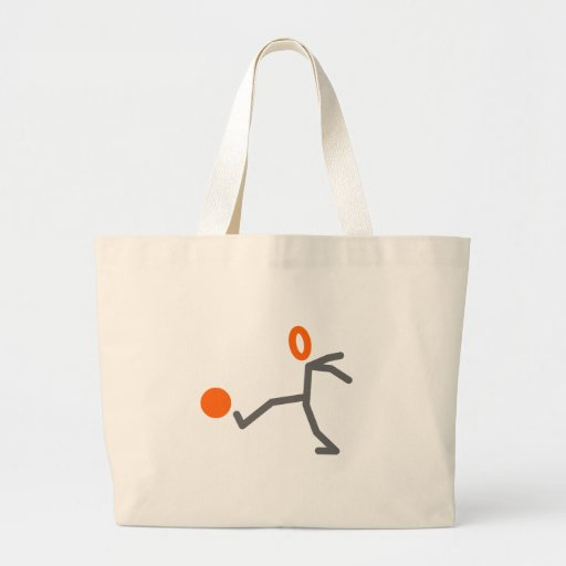Soccer Stick Man Tote Bag