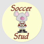 Soccer Stud Tshirts and Gifts Sticker