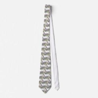 soccer substitutes black + white kit neck tie