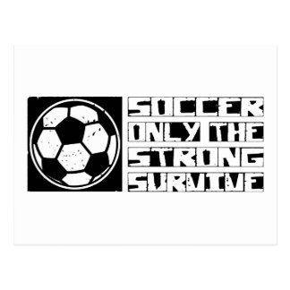 Soccer Survive Postcard