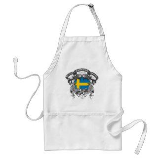 Soccer Sweden Adult Apron