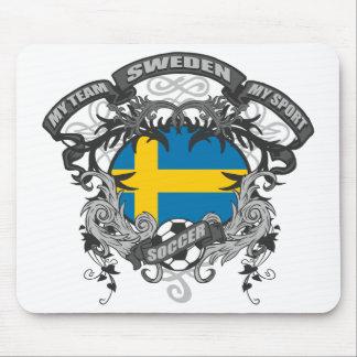 Soccer Sweden Mouse Pad